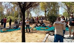 Batıkentliler parkına sahip çıkıyor: Yaşam alanlarımızın yağmalanmasına izin vermeyeceğiz