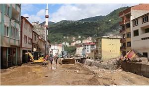 Giresun'daki sel felaketinde yaşamını yitirenlerin sayısı 10'a yükseldi