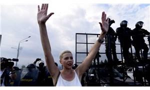 Belarus'ta Saray'a yürümek isteyen protestoculara polis engeli: 140 gözaltı