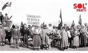 SOL Parti'den 30 Ağustos açıklaması: Devrimci demokratik cumhuriyet için mücadeleye devam