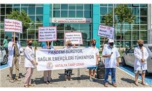 Antalya Tabip Odası: Covid-19'a yakalanan sağlık çalışanları meslek hastalığı kapsamına alınmalı