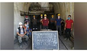 Ermenekli madenciler 13 aydır maaş alamıyor