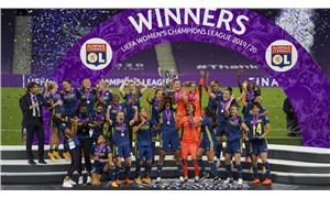Lyon'dan Kadınlar Şampiyonlar Ligi'nde üst üste beşinci zafer