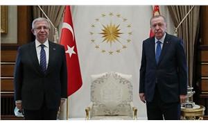 Erdoğan ve Yavaş Beştepe'de görüştü