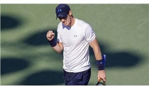 ABD Açık: 4 saat 38 dakika süren karşılaşmada zafer Andy Murray'nin