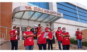 Çiğli Belediyesi temizlik işçilerinden grev kararı