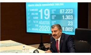 Sağlık Bakanı, günlük koronavirüs tablosunu paylaşmayı durdurdu