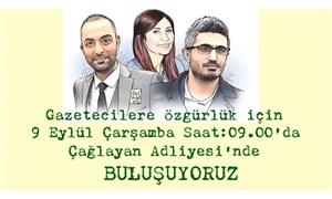 Haberin Var Mı İnisiyatifi'nden tutuklu gazeteciler için çağrı