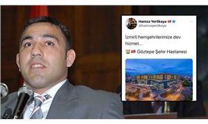 Hamza Yerlikaya, İstanbul'da açılan hastaneyi İzmirlilere müjde etti