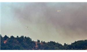 Hatay'daki orman yangını 3 gündür sürüyor