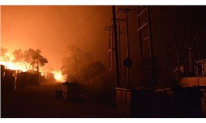 Yangın çıkan Moria sığınmacı kampının bulunduğu bölgede OHAL ilan edildi