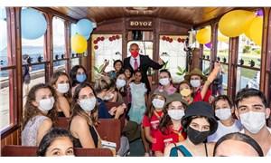 İzmir'de 'nostaljik tramvay' seferlerine başlandı
