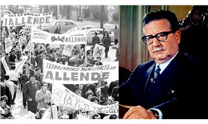 Allende Şili sokaklarında yaşamaya devam ediyor