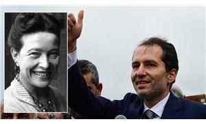 Fatih Erbakan, Simone de Beauvoir'ın biseksüel bir adam olduğunu iddia etti