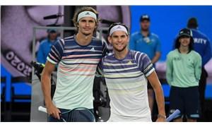 ABD Açık'ta tek erkekler finali Zverev ile Thiem arasında oynanacak