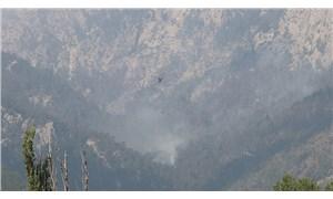 Bakan Pakdemirli duyurdu: Adana'daki yangın kontrol altına alındı