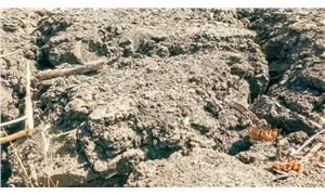 Kuraklık toprakları çatlattı, çiftçi ekim yapamıyor