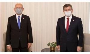Kılıçdaroğlu, Davutoğlu'nu ziyaret etti: İttifak konuşulmadı
