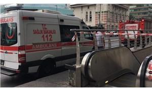 İstanbul'da metro istasyonunda intihar