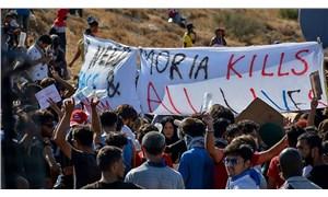Moria mağdurları insanca yaşam istiyor