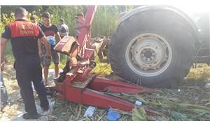 Kolunu silaj makinesine kaptıran çiftçi, ağır yaralandı