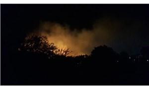 Ayvalık'ta orman yangını: Çevredeki evler tahliye edildi