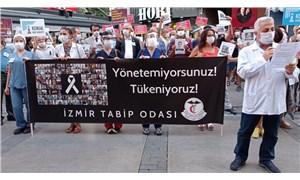 Hekimler ve sağlık emekçileri İzmir'de buluştu: Süreci yetersiz ve kaygı verici buluyoruz