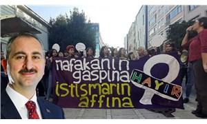 Adalet Bakanı yine kadınların nafaka hakkını hedef aldı