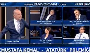 """""""Kemalizm virüstür"""" diyen Selman Öğüt, yayını terk etti"""