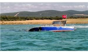 Şarköy açıklarında karaya oturan teknedeki 3 kişi kurtarıldı
