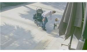 Bebek arabasından düşen çocuğuna şiddet uygulayan baba gözaltına alındı