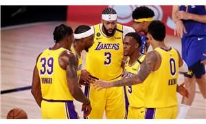 NBA play-off'ları: Lakers son saniye basketiyle kazandı