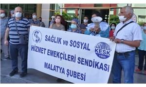 Sağlık emekçileri Malatya'dan seslendi: Tükenmişlik noktasındayız
