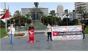 İzmir'de Uluslararası Barış Günü kutlandı