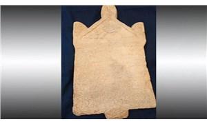 1800 yıllık Lidya yazıtı 23 yıl sonra yeniden Türkiye'ye getirildi