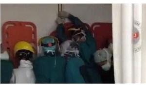 Sağlık çalışanlarına saldıranlar gözaltına alındı