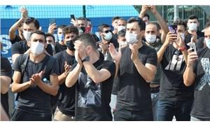 Amatör futbolculardan TFF binası önünde eylem: Virüs sadece bize mi bulaşıyor?