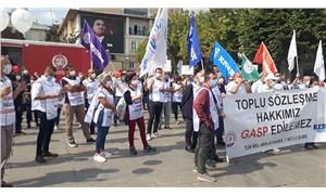 Belediye emekçilerinin TİS isyanı