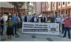 Ekosistemi ve tarihi mirası tahrip eden ocak için suç duyurusu: Hukuksuz ocak kapatılmalı