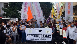 HDP'ye yönelik operasyon dört bir yanda protesto ediliyor