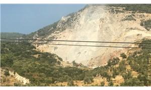 Aydın'da taş ocakları doğayı ve tarım alanlarını yok ediyor