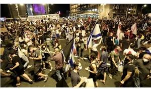 İsrail'de karantinaya rağmen Netanyahu karşıtı eylemler sürüyor