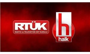 Halk TV'nin 5 günlük yayın durdurma cezası başladı; ekran karartıldı