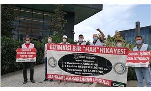 Cargill işçilerinden  bir eylem daha