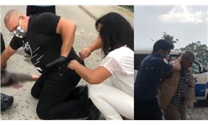 Evli olduğu erkek tarafından vurulan kadını yoldan geçen doktor kurtardı