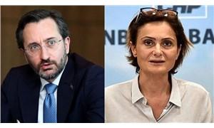 Fahrettin Altun'un Kaftancıoğlu'na açtığı dava takipsizlikle sonuçlandı