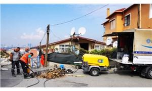 Riskli alan bahanesiyle 15 evin elektriği ve doğalgazı kesildi: Mağduriyette ısrar