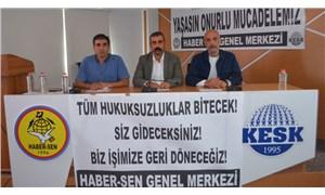 Haber-Sen yöneticisi PTT'den ihraç edildi