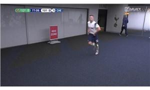 Tottenhamlı Eric Dier, maçın ortasında tuvalete koştu