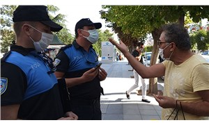 Maske takmadığı için para cezası verilen kişiden polislere: İyi, maaşınız çıktı